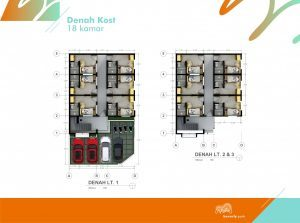 Gedung_Indekos_18Rooms